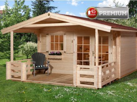 Gartenhaus Benny 3 Plus 3.299, € B380xT500 cm, 45