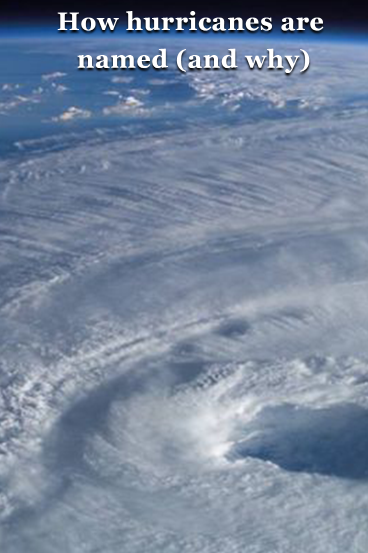 How Hurricanes Are Named And Why Hurricane Names Hurricane Earth From Space