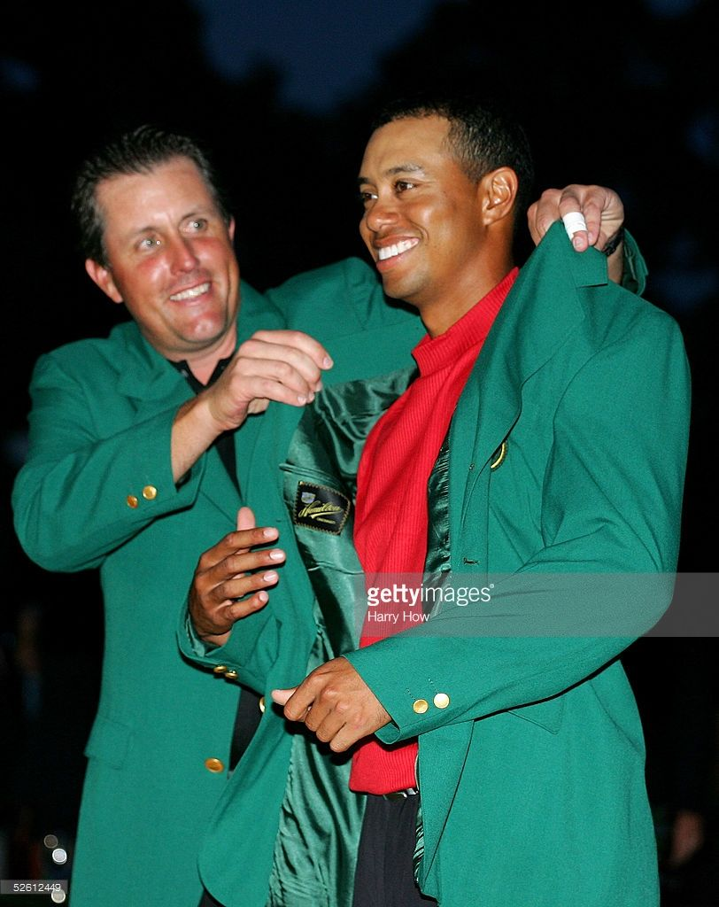 In Focus: Past Masters Winners | Tiger woods, Augusta national ...