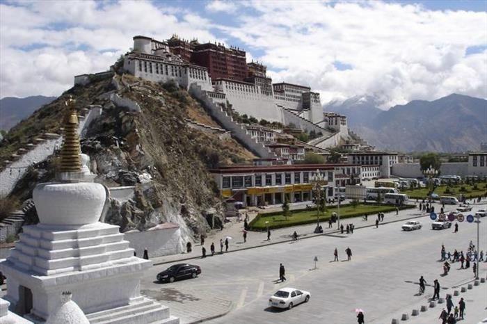 Lugares Asombrosos. Palacio Potala en Tibet