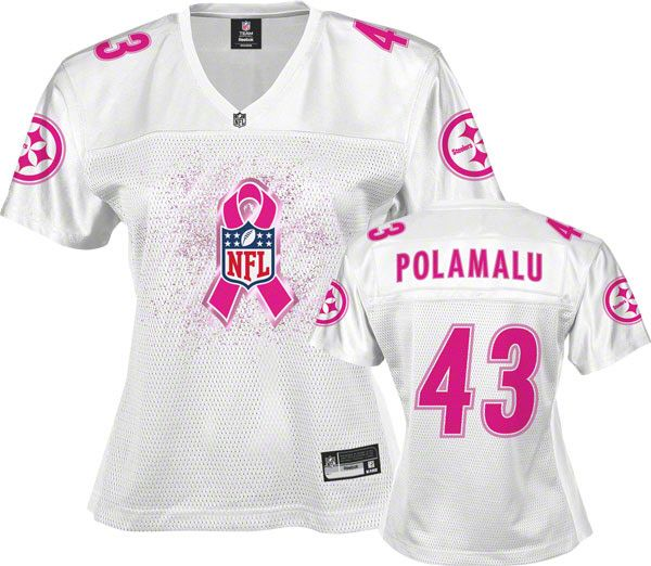 996251f6b Pittsburgh Steelers Women s Breast Cancer Awareness Jersey Denver Broncos  Womens