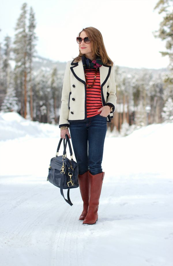 0ba1ad4cbfb This whole look...especially love the J Crew coat and frye melissa button  boots