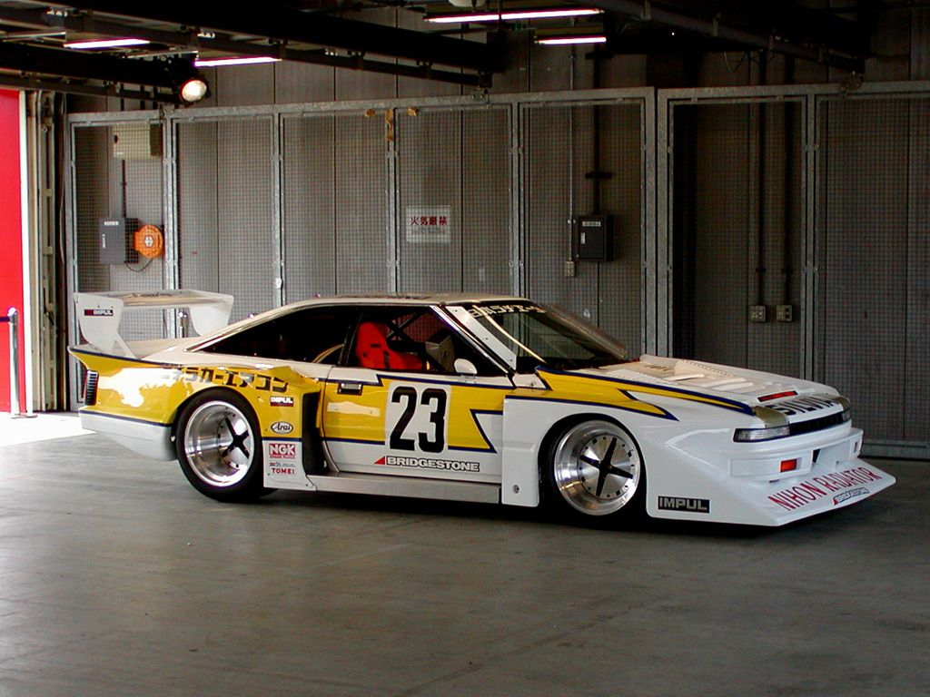 Silvia Turbo Fia Group Historic Race Cars Pinterest