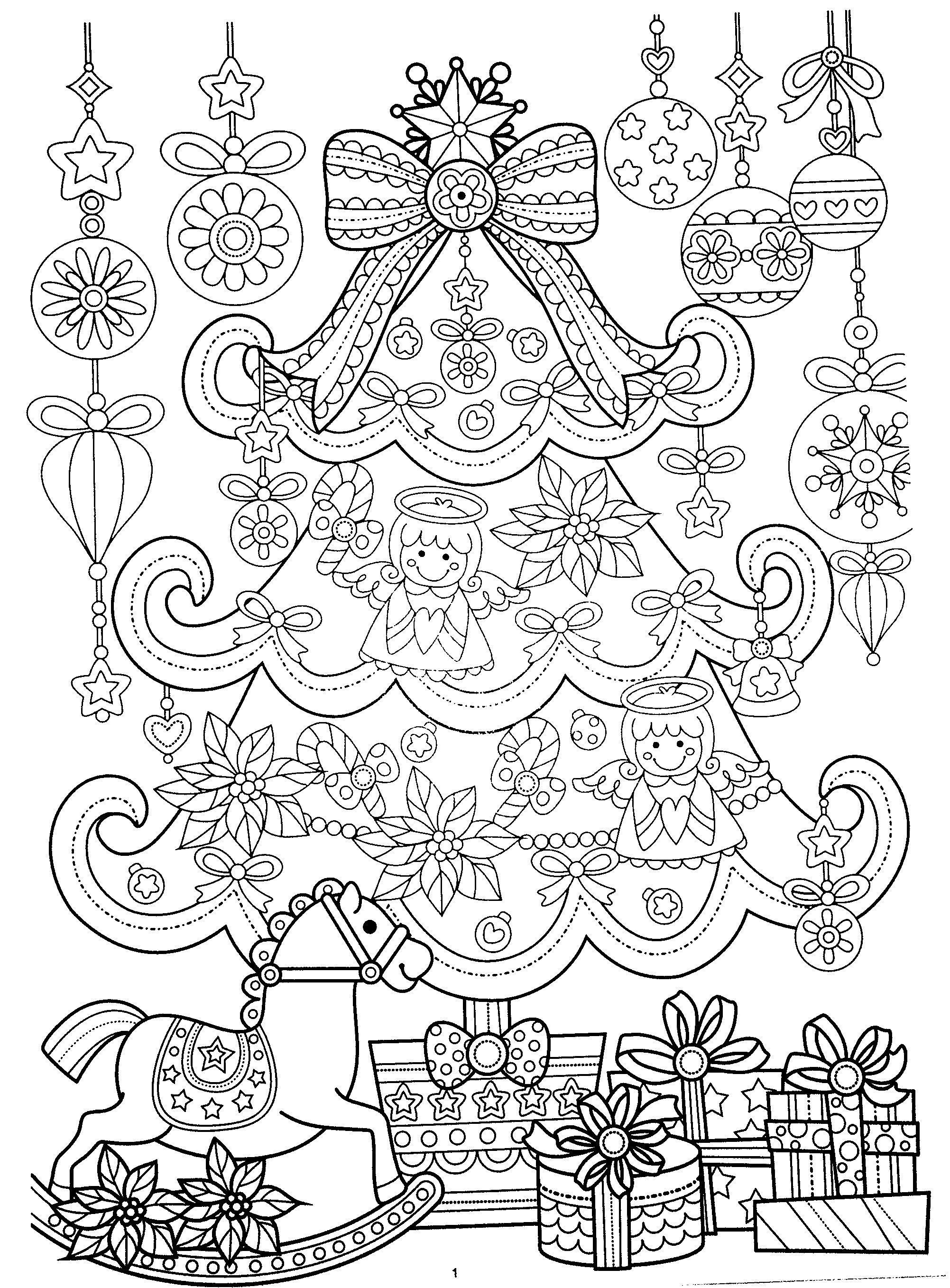 Halloweencoloringpages New Year Coloring Pages Free Christmas
