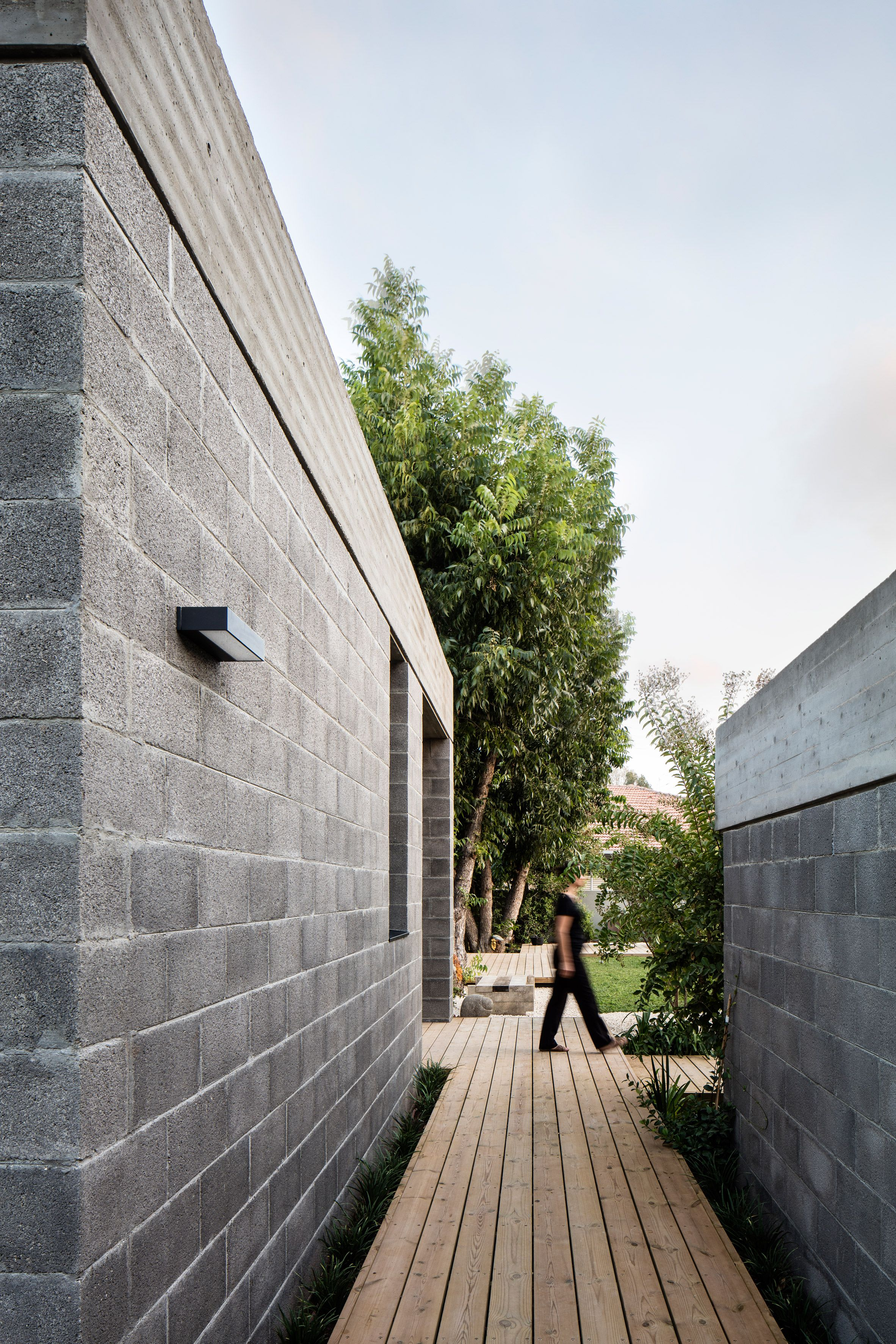 Architects Tamar Jacobs and Oshri Yaniv have built their home on the ...