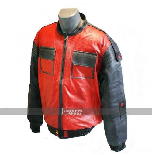 Leather Back Jacket Future To The Mcfly 2015 Bttf Marty 2 m8Ovnw0N