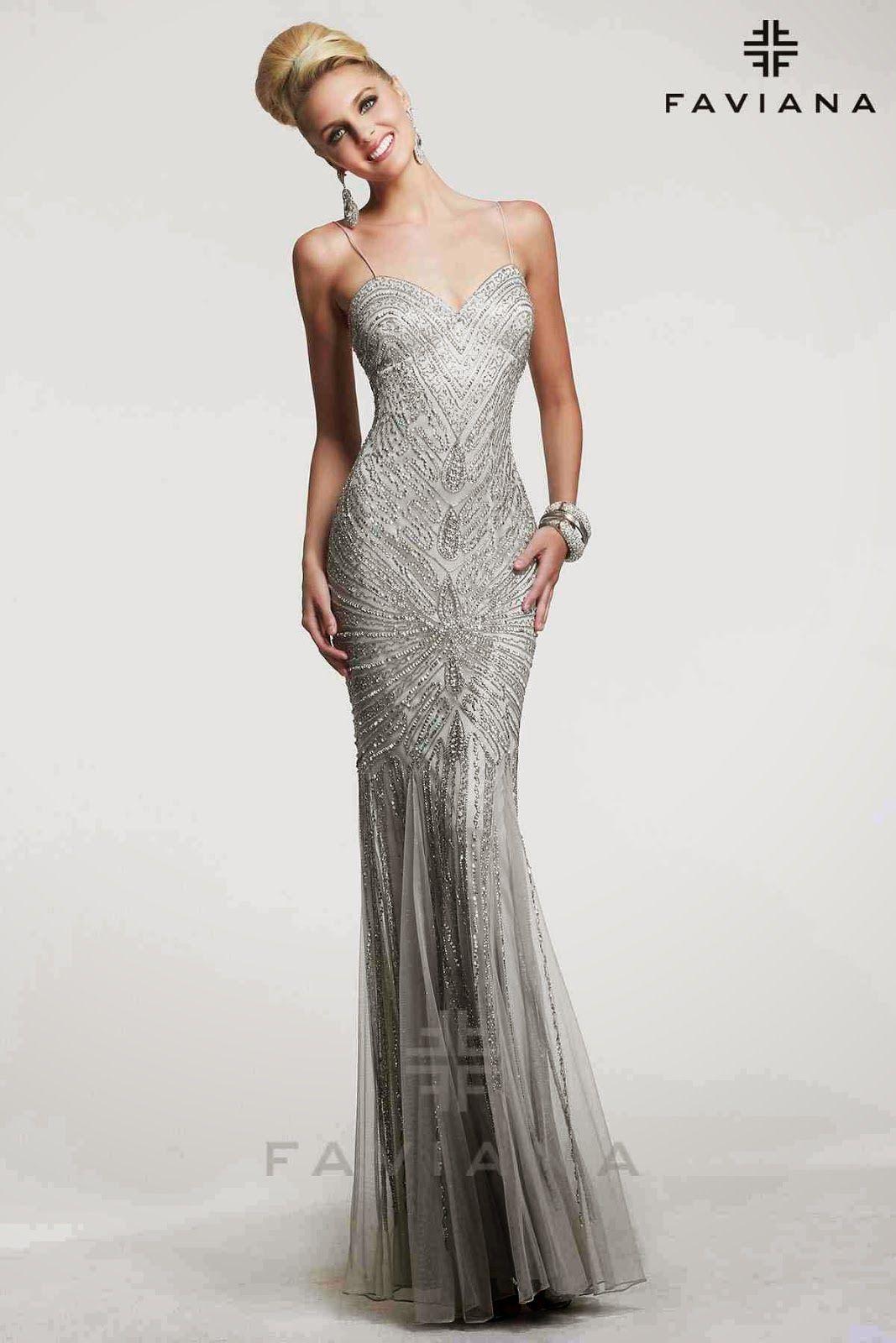 Vestidos de moda para fiesta elegante