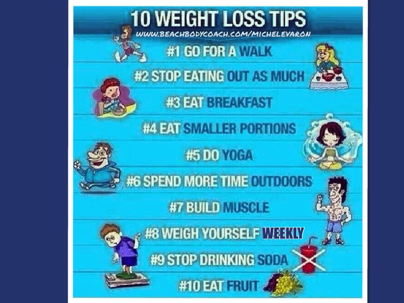 Some #tips to help you out this week on your #weightlossjourney