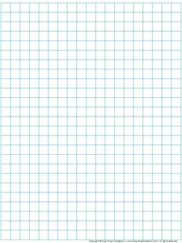 Graph Paper Full Page Grid 1 Centimeter Squares 19x25