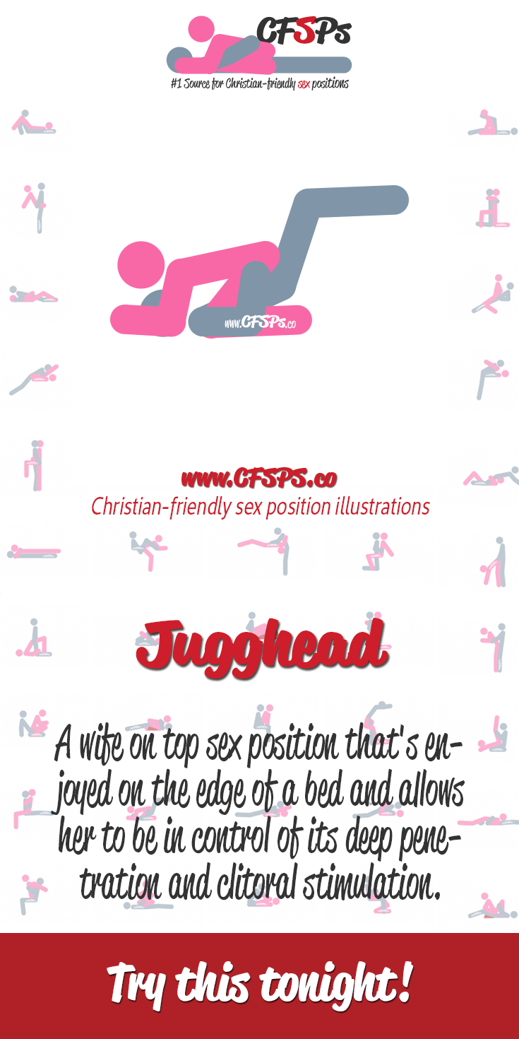 #TryThisTonight Jugghead is a wife-on-top sex position with great depth  control