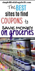 Where to find Coupons to save Money on Groceries