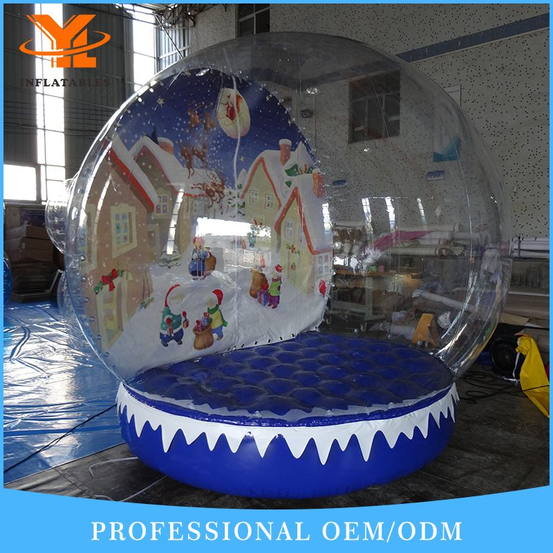 Time To Source Smarter Inflatable Decorations Snow Globes