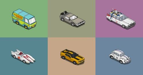 8 Bit Cars Is A Pixel Art Experiment Portraying Famous Cars
