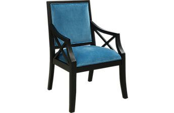 Best Tilly Blue Accent Chair With Images Blue Accent Chairs 400 x 300