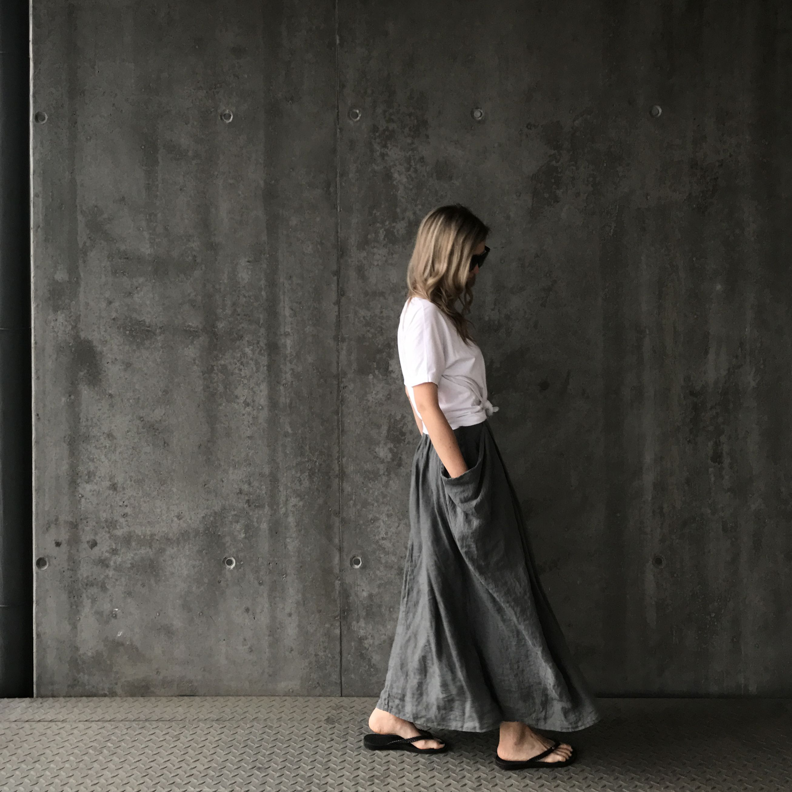 352d1d775d Linen skirt €104 from Seaside Tones