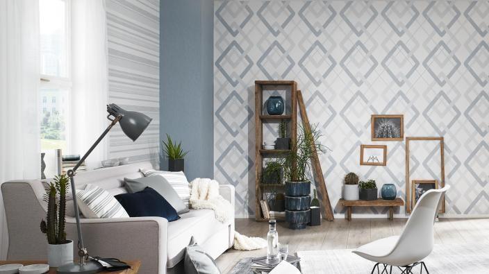 Tapeten aus der Kollektion MakeUp`16 Modern Living - Trendtapeten - tapeten wohnzimmer