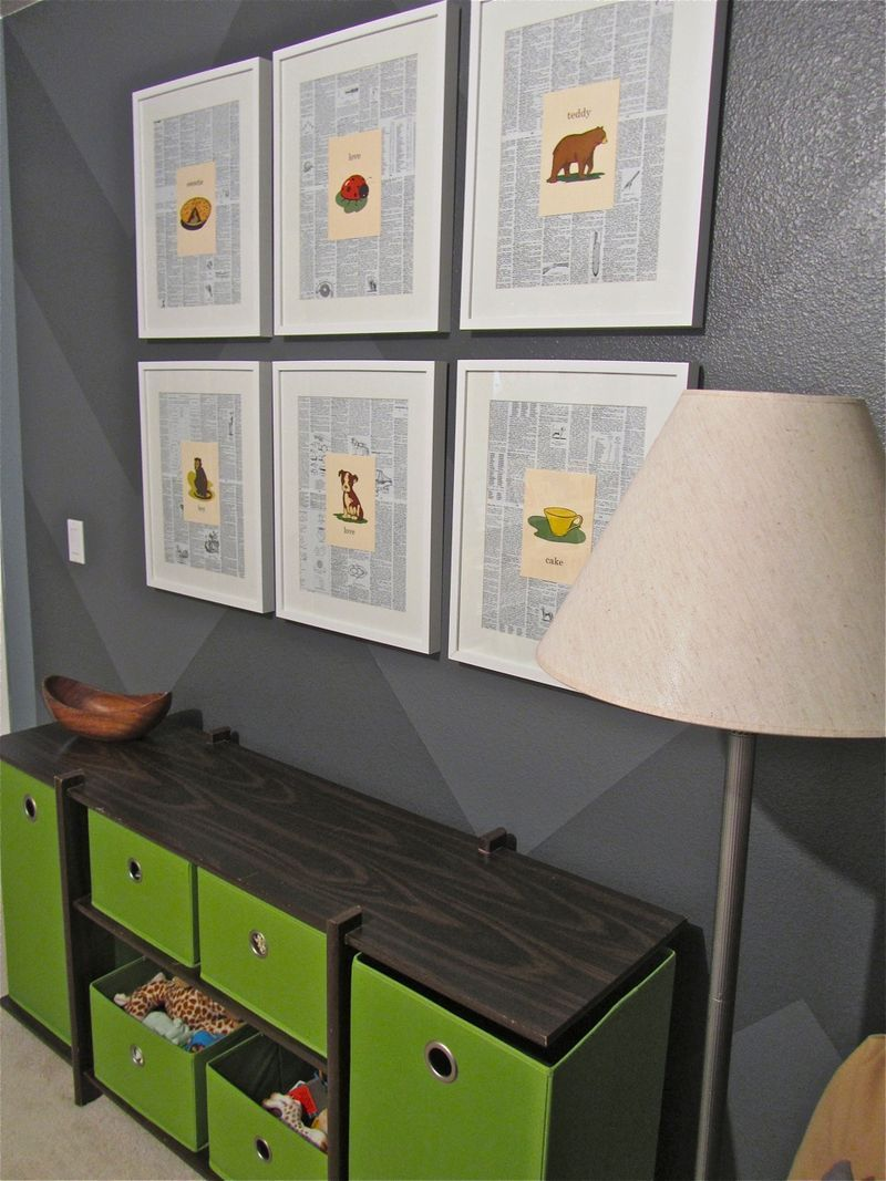 Oh, Baby - DIY Nursery Decor - How to Make Wall Art from ...