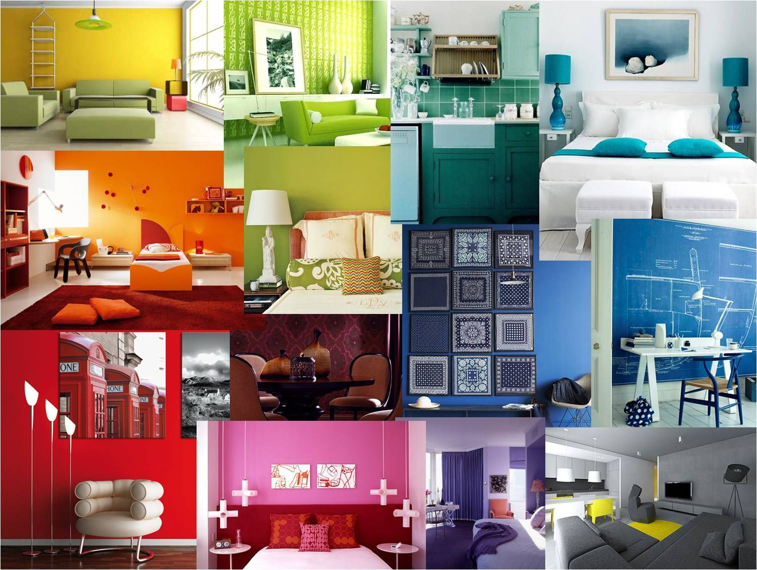 Discover how colour through interior design can influence your mood