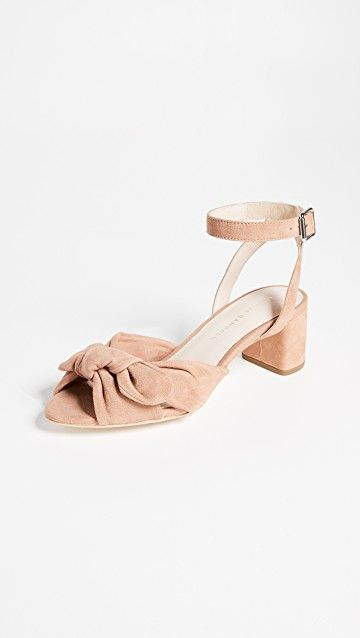 LOEFFLER RANDALL | Jill Knotted Block Sandals #Shoes #LOEFFLER RANDALL