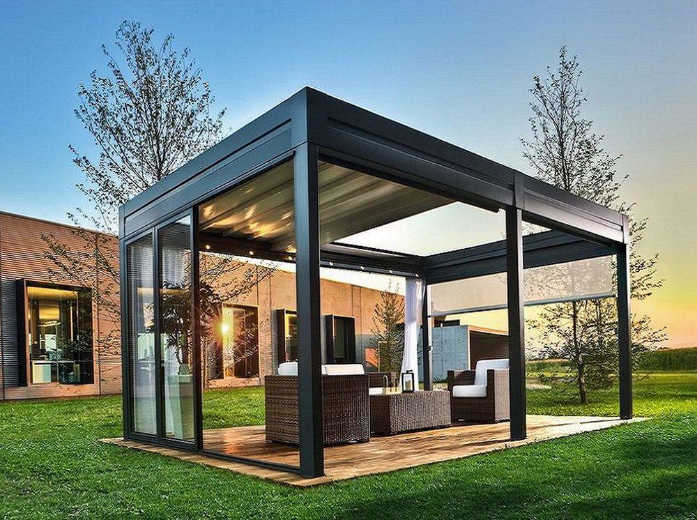 arbor designs outdoor glass   Modern Pergola Designs With ...