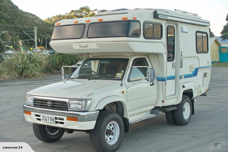 Toyota Hilux 4x4 Sunrader Trade Me Campers Pinterest Toyota