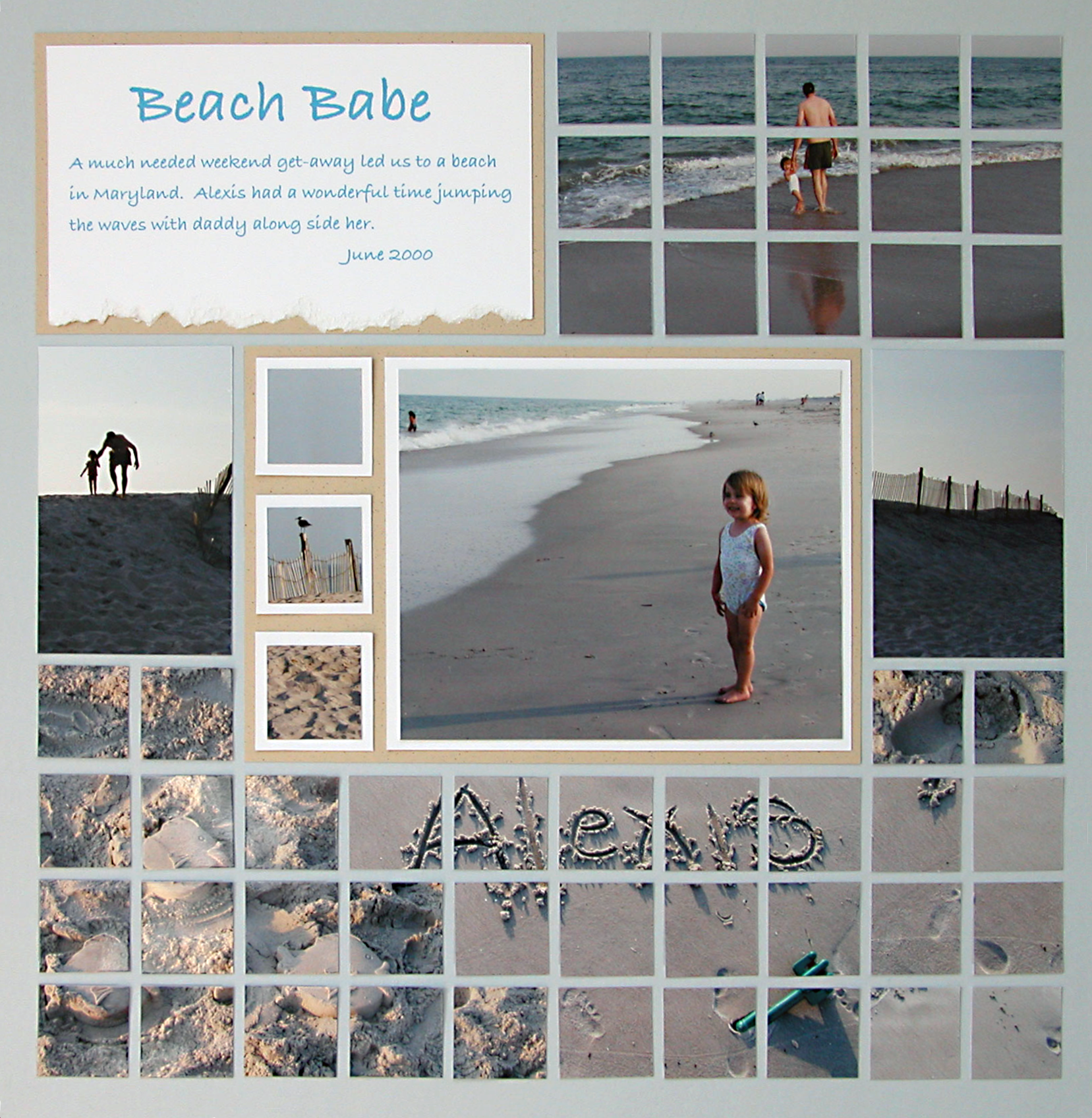 scrapbook travel Pages Graphic 45 is part of Graphic  Collections Papers Stamps More Scrapbook Com - Next time you create beach scrapbook layout, use photos of the sand for a unique scrapbook embellishment  Get more photo ideas for scrapbooking by clicking the image