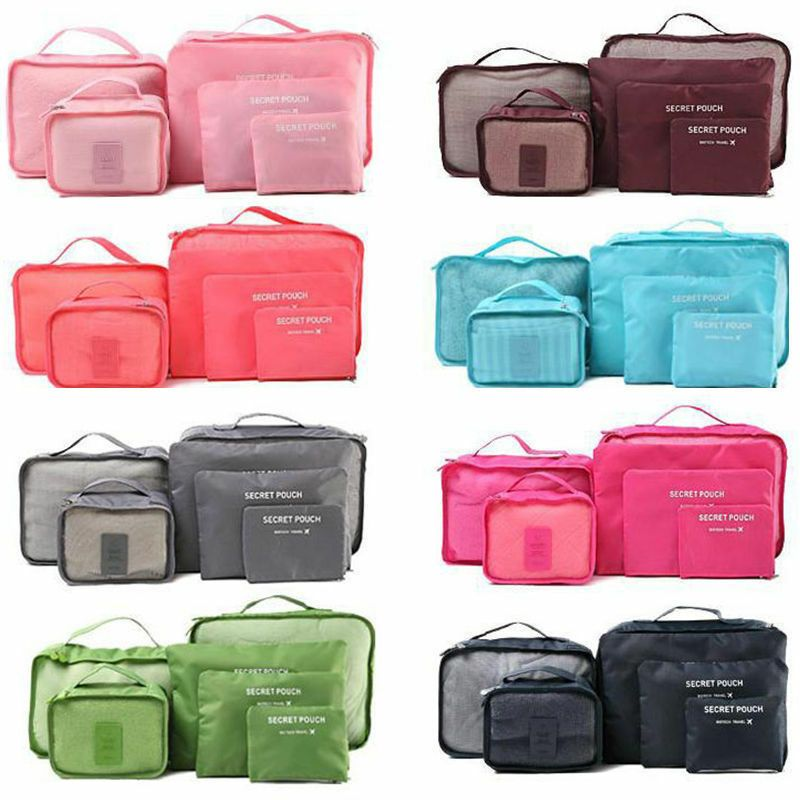 New Fashion Home Waterproof Clothes Storage Packing Travel Luggage Organizer Bag