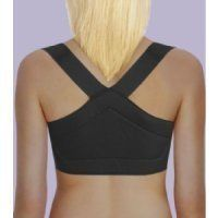 ShouldersBack Posture Support - ShouldersBack Lite - Medium - Black by ShouldersBack. $44.80. Posture Support Brace  This shoulder posture brace is comfortable for both work and workouts. It's an orthopedist-designed nylon vest that gently coaxes your shoulders into proper position to help prevent chronic neck and back pain and improve your posture. Made from a lighter material than our original ShouldersBack (no longer available). Adjusts to fit over or under clothing. ...