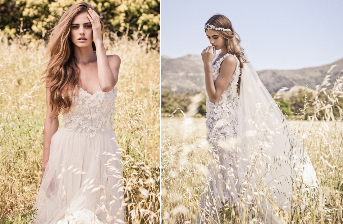 Bo and luca bohemian chic wedding dresses wedding ideas