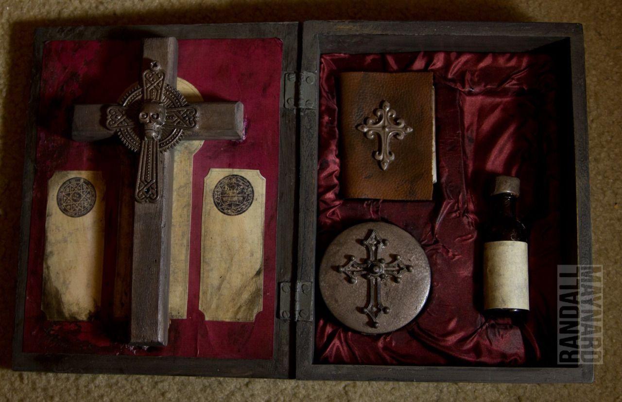 Weird Shit Blog • randallmaynard: Exorcism Kit! Cover art - Saint...