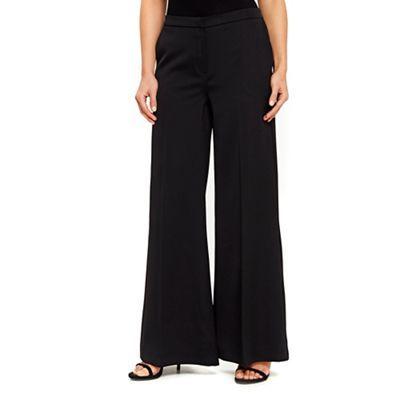 wide range factory outlets hot sale online Wallis Black wide leg trousers | Debenhams | Black wide leg ...