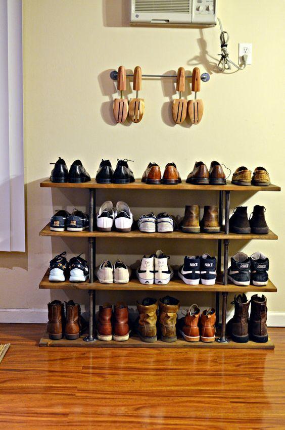 Superbly Practical And Convenient Shoe Rack Designs - Bored Art & Superbly Practical And Convenient Shoe Rack Designs | Pinterest ...