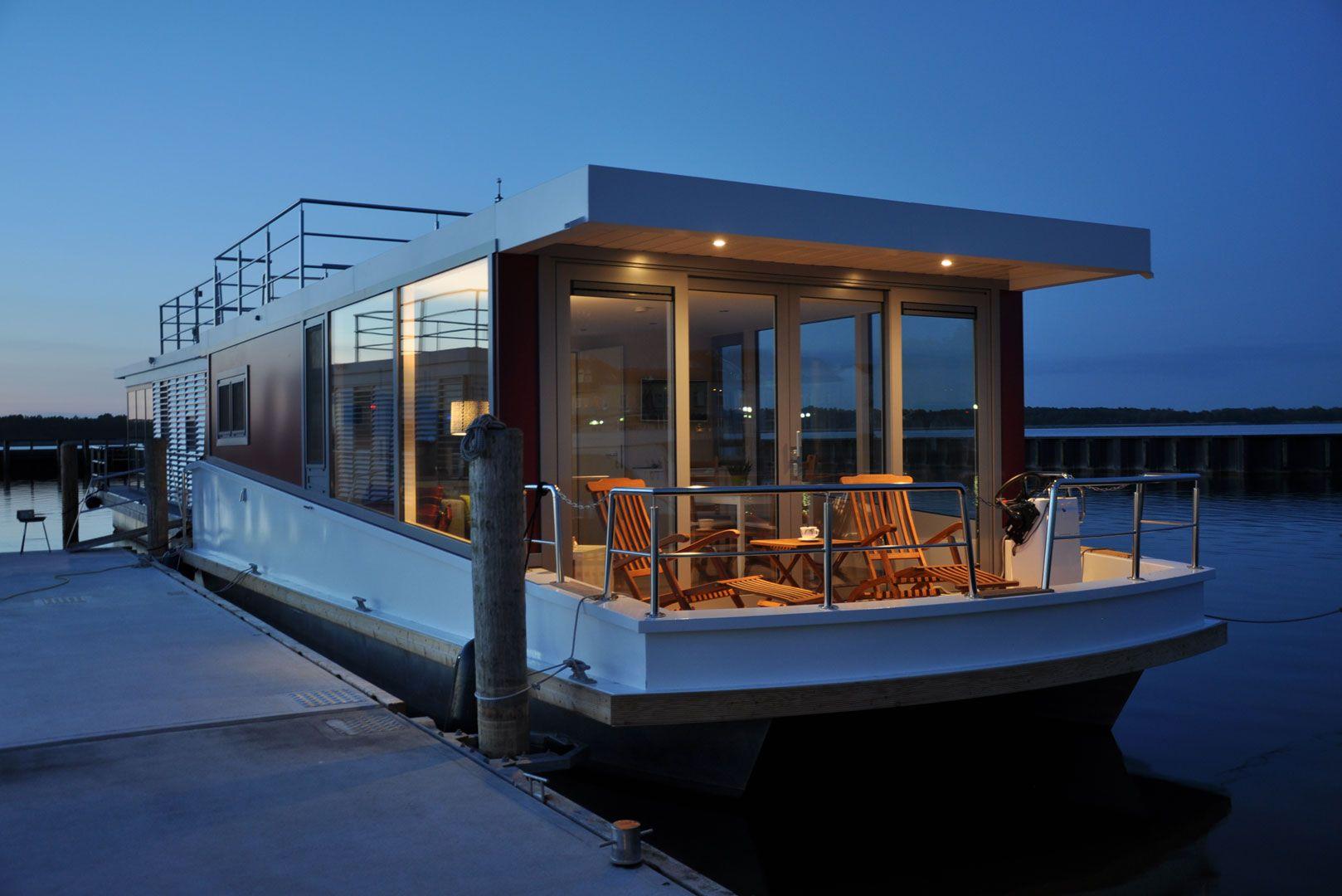 Houseboat Floating 30 Schwimmende Hauser Hausboot Ostsee Ferienwohnung
