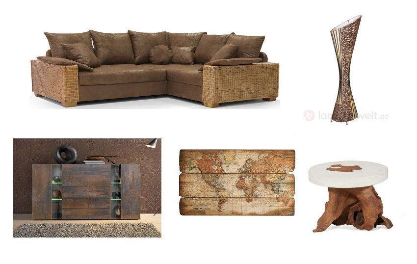 Das perfekte Wohnzimmer in Naturoptik - Holz und Erdtöne! - Erstellt ...