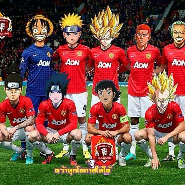 Anime manchester united...,, this team woukd decimate anyone