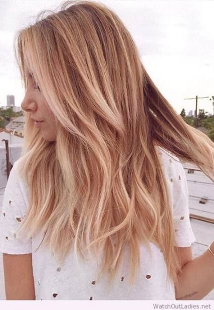 19 Ideas Hair Color Highlights Rose Gold Strawberry Blonde Hair Blonde Hair With Highlights Strawberry Blonde Hair Color Gold Blonde Hair