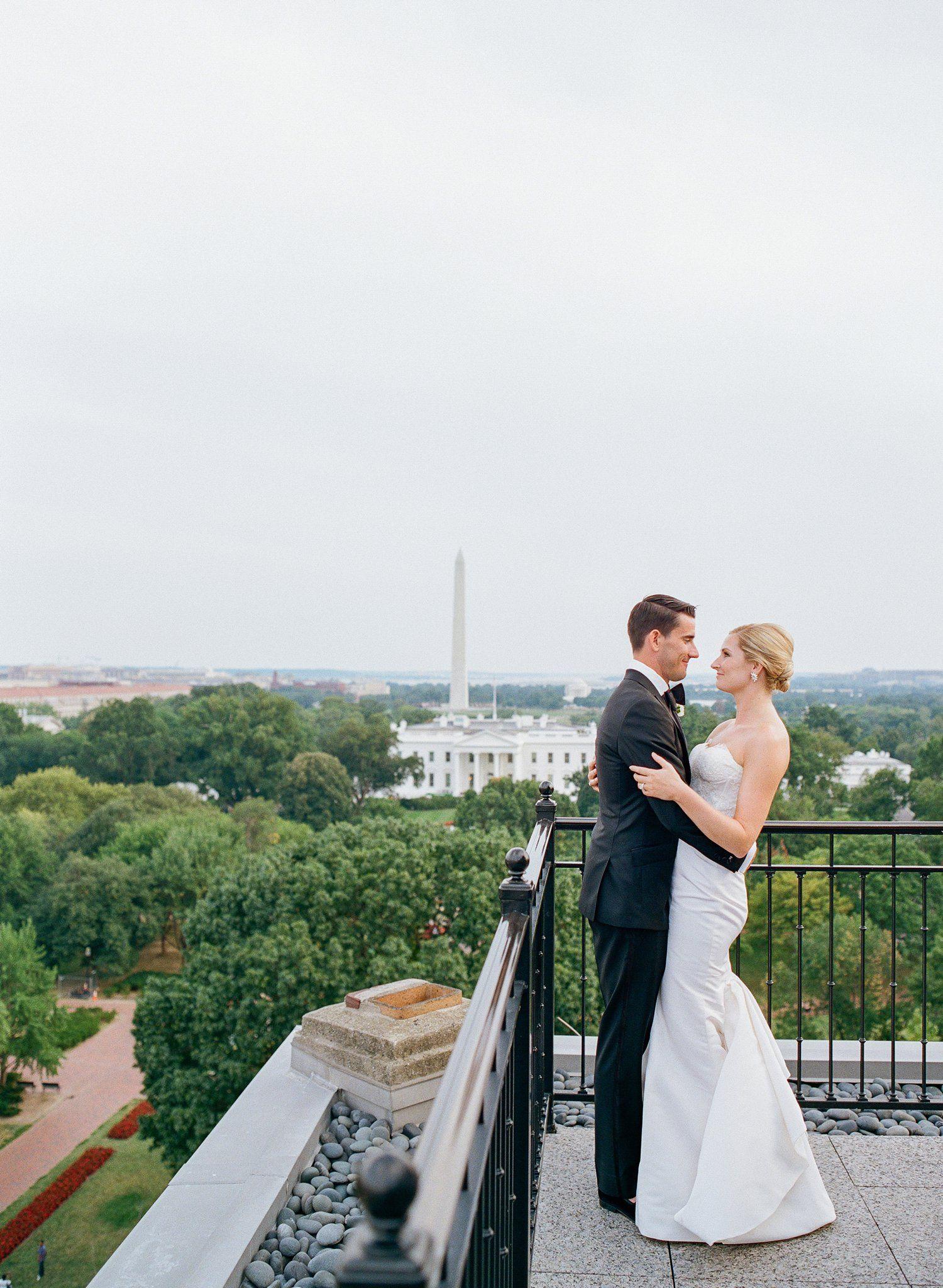 dc hay adams wedding monument view white house and washington
