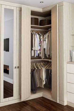 Resultado De Imagem Para L Shaped Closet Doors Closet Small Bedroom Bedroom Cupboards Small Bedroom Wardrobe
