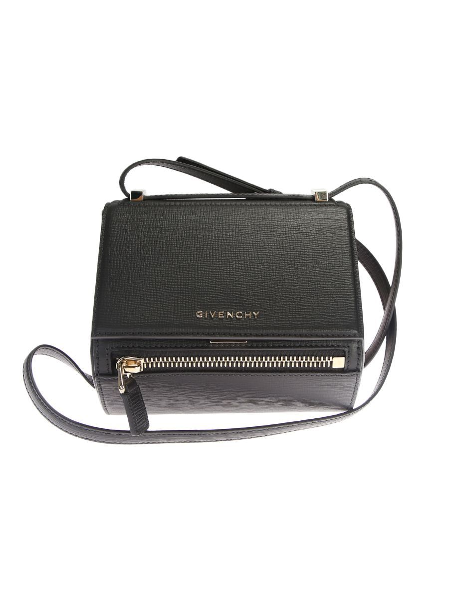 fa8e4257fd4a GIVENCHY BLACK LEATHER PANDORA BOX MINI BAG.  givenchy  bags  shoulder bags   leather