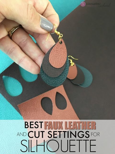 Photo of Best Silhouette Cut Settings for Faux Leather (And Easiest Faux Leather to Cut)
