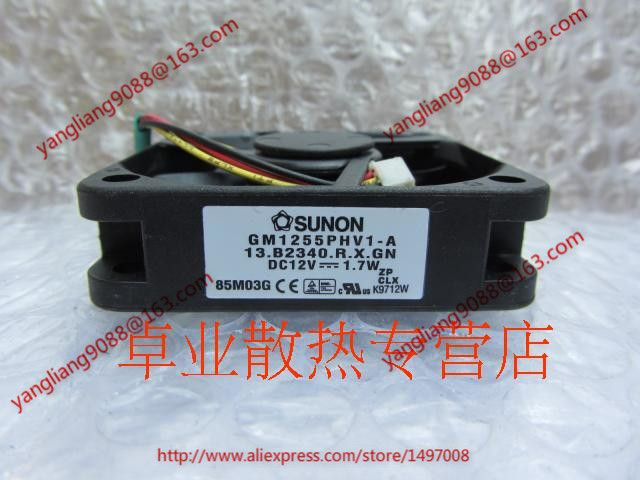 Free Shipping For SUNON GM1255PHV1-A , 13 B2340 R X GN DC