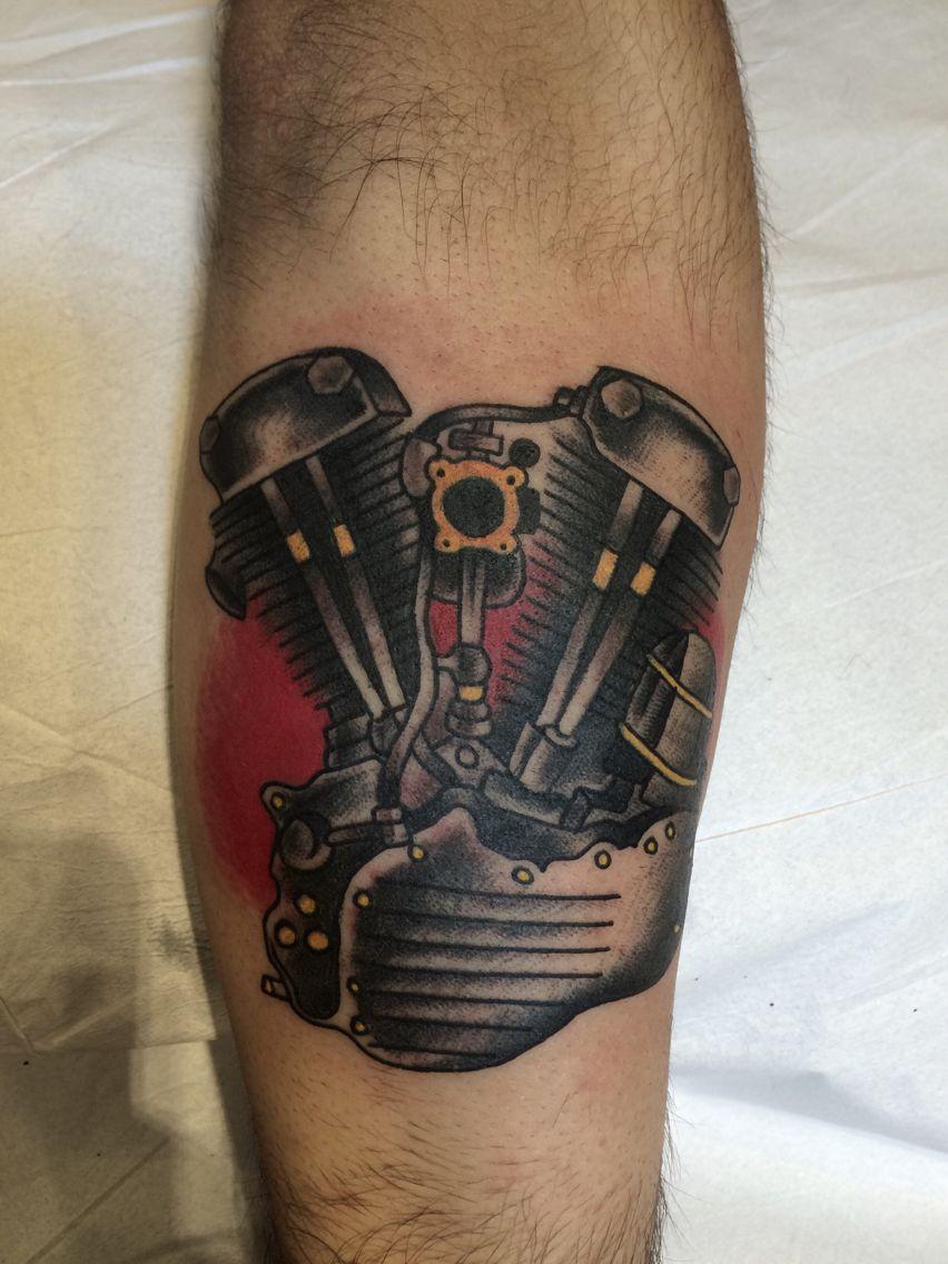 motorcycle engine by Phernandu Nunes