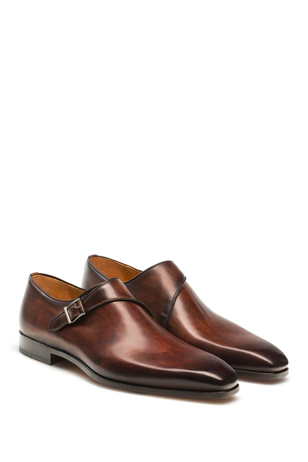MagnanniMen's Saburo Monk Strap Shoe 0ljSdMe