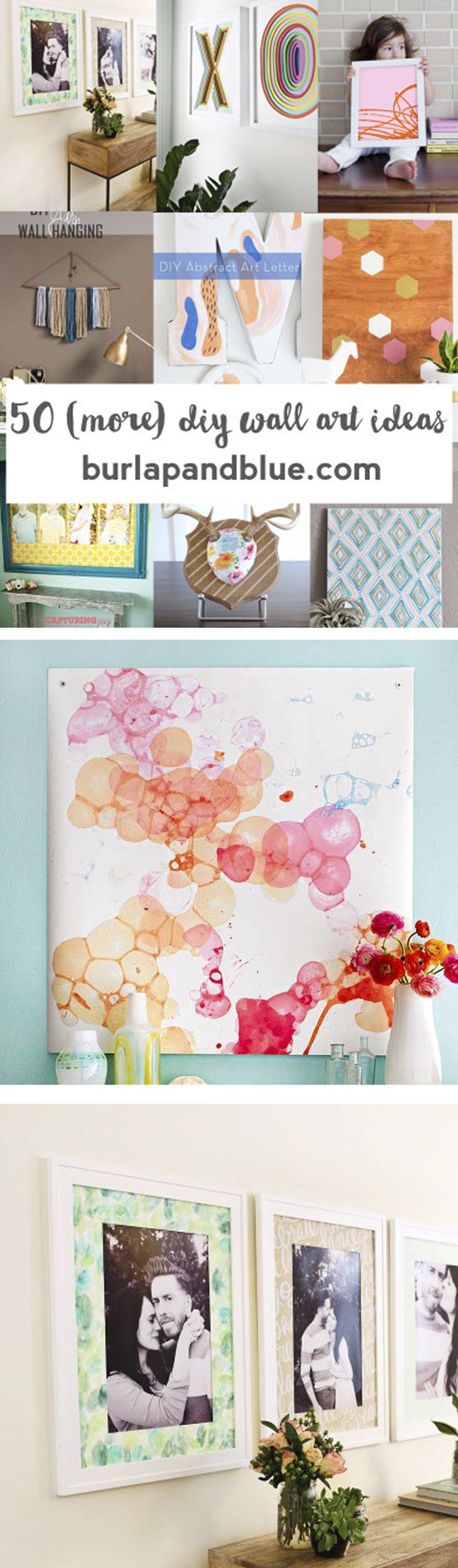 more easy wall art ideas pinterest blank walls diy wall