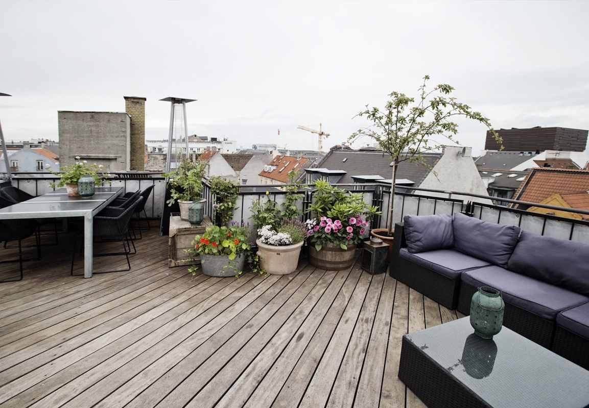 Lejlighed | Andelsbolig med rå mursten og genbrugstræ | Boligmagasinet.dk