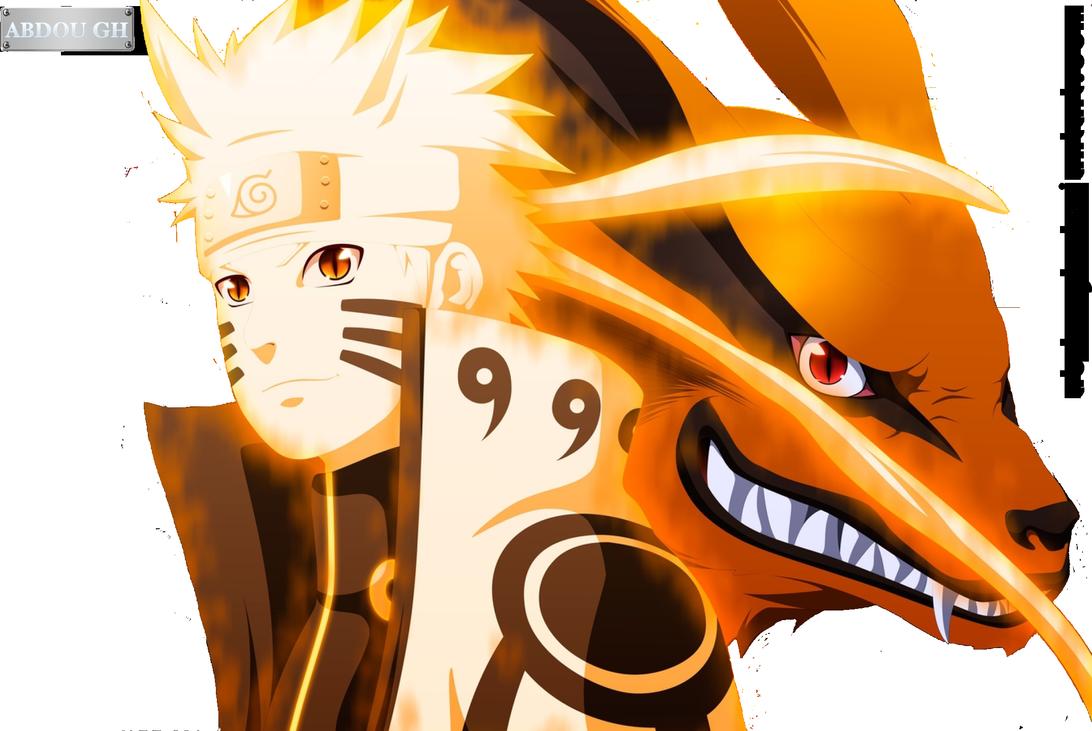 Naruto And Kurama By Abdough On Deviantart Anime Anime Wallpaper Naruto Wallpaper