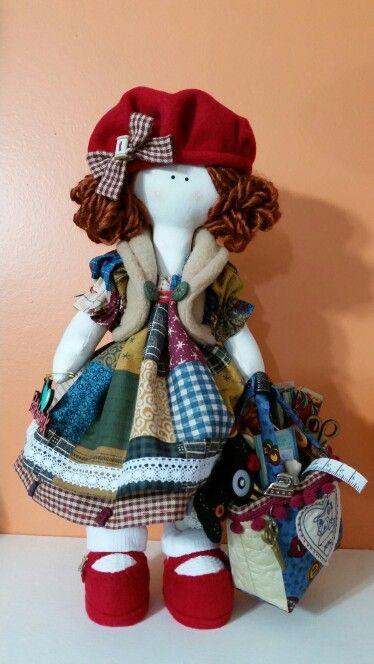 Boneca costureira projeto Amei Garcia , by Lu Buluka.