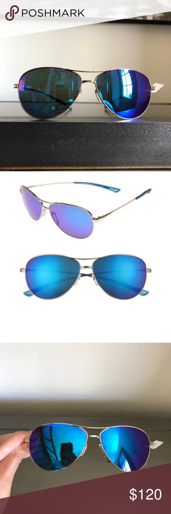 94b534503e923 🆕Smith Langley Carbonic Polarized Sunglasses Smith Langley Carbonic  Polarized Sunglasses Gold Frame Blue Mirror Lens