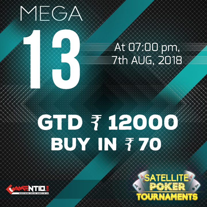 """Win Rs. 12000 Today!! Join Play & Win the """"Mega 13"""