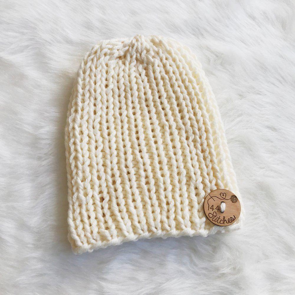 Hampton Classic Ribbed Beanie - Free Knitting Pattern | Knitting ...